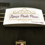 Placa Paula Piassa - Brodowski - SP