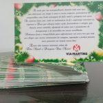 Cartão de Natal - Via Martins - Brodowski