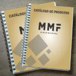 Catálogo MMF Distribuidora. Arte e Impressão